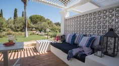 Vila Monte Farmhouse in the Algarve, Portugal.   Good for families with lots of space and various room sizes plus pool and restaurant. 55 rooms