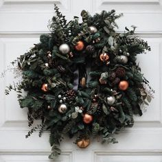 Happy Holidays + Holiday Decorations + See you in January! Christmas And New Year, Winter Christmas, Christmas Time, Christmas Wreaths, Christmas Decorations, Christmas Ornaments, Christmas Stuff, Merry Christmas, Holidays And Events