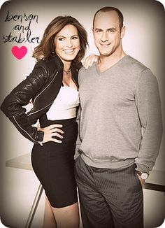 Love these two.. So sad they are both leaving SVU