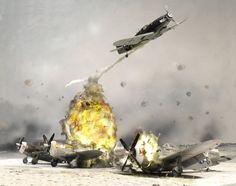 Diorama: Operation Bodenplatte (including detail build article)