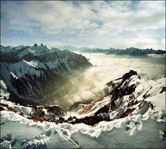 Above it all Alps  #winter #alps #photography