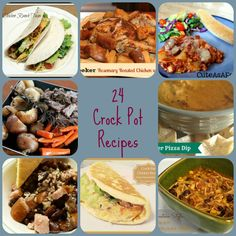 24 Awesome Crock Pot Recipes - Farmer's Wife Rambles