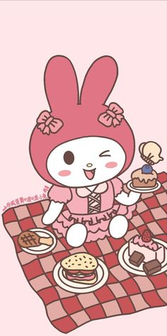 My Melody, Hello Kitty, Carpet, Cartoon, Wallpapers, Fictional Characters, Piano, Couple, Sweet