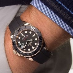 What's On Your Wrist? — es⚓️ by aintnorocketscience from Instagram... Rolex Watches For Men, Best Watches For Men, Modern Watches, Luxury Watches For Men, Sport Watches, Vintage Watches, Cool Watches, Men's Watches, Black Rolex