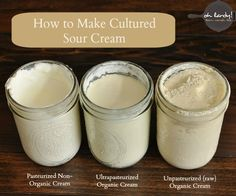 How to make your own cultured cream - www.ohlardy.com