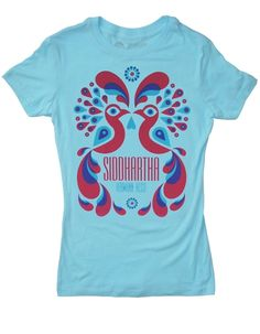 Siddhartha book cover t-shirt from Out of Print, $28. With every shirt sold, they donate to literacy programs in Africa.