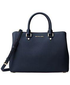 MICHAEL Michael Kors Savannah Large Satchel - Handbags & Accessories - Macy's
