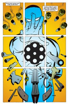Doctor Manhattan by Darwyn Cooke (Before Watchmen: Minutemen #6)