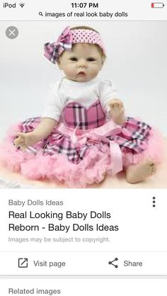 b89b8772f 17 Best Realistic   Lifelike Baby Dolls images