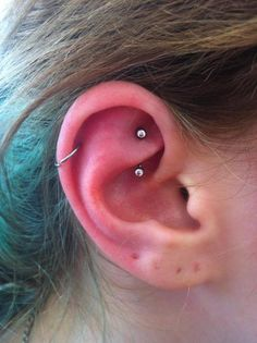 snug and rook piercing - Google Search