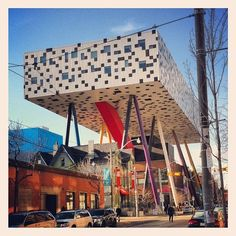 OCAD Ontario College Of Art and Design Huron Wendat, Ontario, Global Village, America And Canada, Student Learning, Toronto, Stuff To Do, Pergola, University