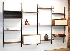Cadovius-50 - Danish Modern Wall Unit #wallunit #storage #shelving