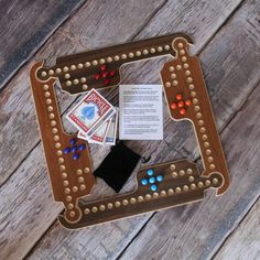 Jokers & Marbles Game by RusticRefined on Etsy, $59.99