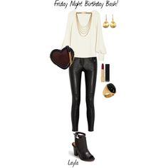 """Friday Night Birthday Bash!"" by mtngusa on Polyvore"