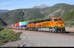 RailPictures.Net Photo: BNSF 7944 BNSF Railway GE ES44C4 at Blue Cut, California by Matthew Griffin