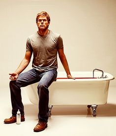Michael C. Hall in Dexter (2006-13, HBO)