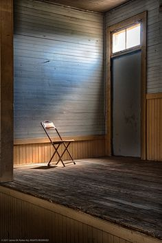 In the Spotlight -- one of my favorites shots from last year. Photographed in Elkhorn, Montana, a town that's barely hanging onto life.
