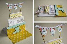 Notable Nest: Birthday Cake Banner Card [PTI Blog Hop]