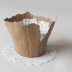 a pretty little papier mache bowl...