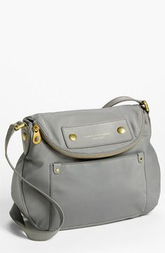 MARC BY MARC JACOBS 'Preppy Nylon - Natasha' Crossbody Bag in gray available at #Nordstrom $178