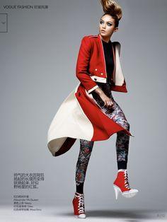 Gigi Hadid for Vogue China March 2016