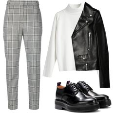 Untitled #55 by boyarovaliza on Polyvore featuring Mode, Yves Saint Laurent, Alexander Wang and Eytys
