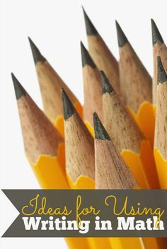 Love this amazing list of ideas about how to get kids to write about math. You are sure to find something to inspire even your most reluctant writers and biggest mathphobes!