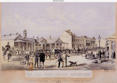 First Melbourne Post Office - supposedly run (mail sorted and distributed) for…