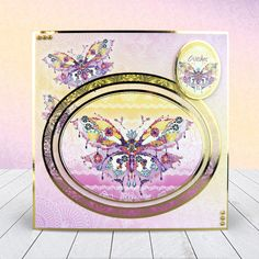 Presents, Love And Lovely Kits By Docraft JEWELS /& GEMS Craft Your Own Toppers