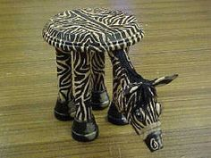 Easy step by step directions hgtv.com  Create a Zebra Terra Cotta Pot Table  This painted accessory will look great inside or outside your home.