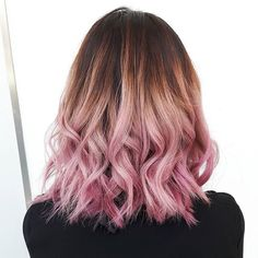Pink locks created by @raachelross with the new #BLONDME Blushes! #pinkhair #pinkbalayage