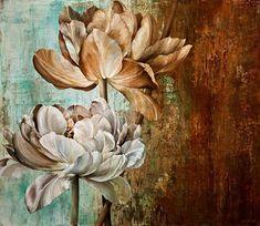 fine art since 1989 Art Floral, Watercolor Flowers, Watercolor Paintings, Painting Flowers, China Painting, Painting Inspiration, Flower Art, Art Decor, Modern Art