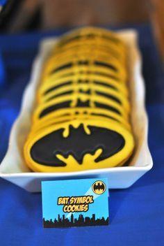 Lego Batman inspired birthday party via Kara's Party Ideas KarasPartyIdeas.com Party favors, cakes, recipes, printables, games, and more! #b...