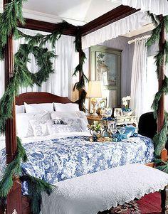 Love the bed linnen