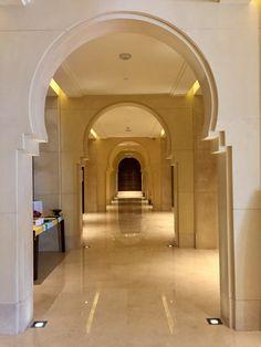 Arabian design for the Anantara hotel at Abu Dhabi