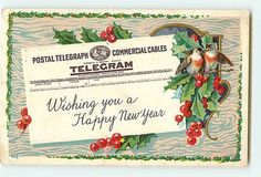 101 Best Vintage New Year Images images | Vintage happy ...