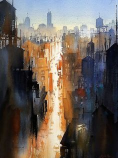 "Thomas W Schaller da IL RAMO D'ORO ""Pittori-Painters"" https://ilramodoro-katyasanna.blogspot.it/2013/11/pittori-painters.html"