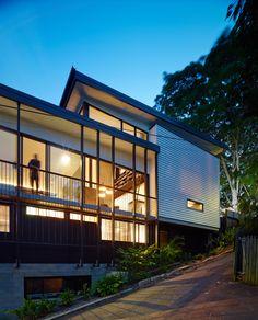 Paddington Residence // House Design // Residential Architecture // Brisbane, Queensland, Australia // Designed by Ellivo Architects // Photography by Scott Burrows // www.ellivo.com