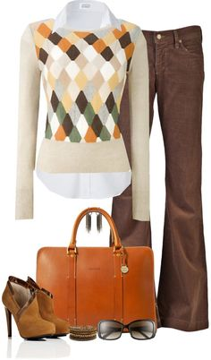 """Argyle (III)"" by partywithgatsby ❤ liked on Polyvore"
