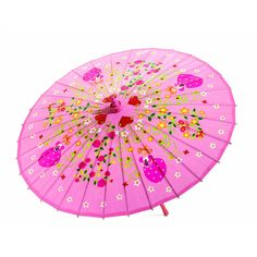 A traditional Chinese bamboo umbrella with delicate patterns for protection from the sun or rain. Bamboo frame with waterproof fabric. Dimensions Ø length Brand Djeco Product Code Barcode 3070900048058 Kids Umbrellas, Colorful Umbrellas, Umbrella Lights, Sun Umbrella, Chinese Bamboo, Circle Art, Toddler Christmas, Camping With Kids, Gift Ideas