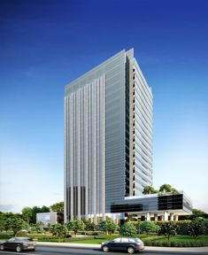 Torre corporativa (em obra) #jonasbirgerarquitetura