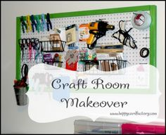 The Happy Card Encouragement Factory: My Craft Room Makeover, Finally!
