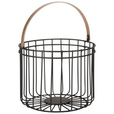 Black Metal Basket with Gold Handle on Maisons du Monde. Take your pick from our furniture and accessories and be inspired! Unique Furniture, Vintage Furniture, Metal Vase, Metal Baskets, Coffee Corner, Retro Color, Dinner Sets, Soft Furnishings, Decoration