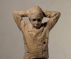 Incríveis Esculturas de Madeira