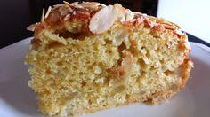 Körtés-mandulás torta (Bizcocho de peras)