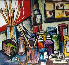 d'ART - Art Critic's Corner - raphaelperez : still life painting raphael perez artist studio