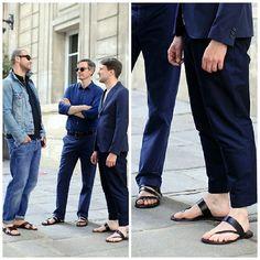 .que bueno vuelven las sandalias para el proximo estio!