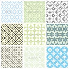 Geometric Vector Patterns - GraphicRiver Item for Sale
