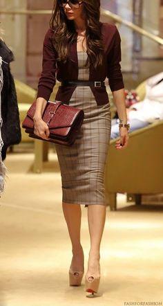 Victoria Beckham- very classy and sexy http://www.fashforfashion.com | Celebrity Style