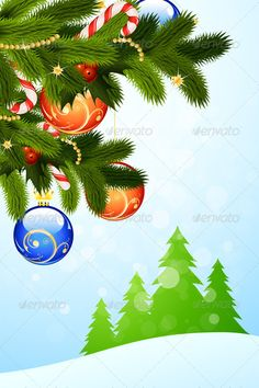 Realistic Graphic DOWNLOAD (.ai, .psd) :: http://jquery.re/pinterest-itmid-1005913886i.html ... Christmas Greeting Card ...  backdrop, background, candy, candy cane, card, christmas, christmas ornament, christmas tree, color, decoration, evening ball, fir tree, glitter, holiday, illustration, mistletoe, sparkle, vector  ... Realistic Photo Graphic Print Obejct Business Web Elements Illustration Design Templates ... DOWNLOAD :: http://jquery.re/pinterest-itmid-1005913886i.html